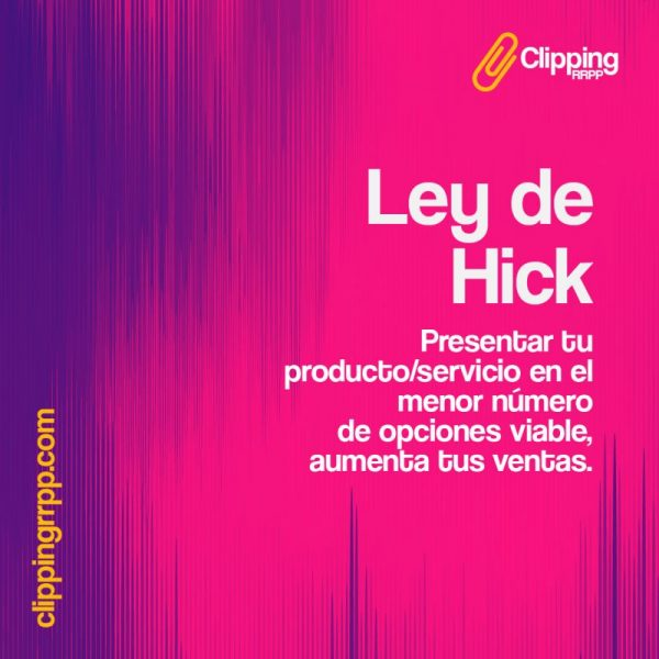 Ley de Hick